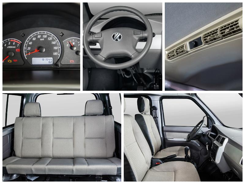 mini-bus VC5 interior