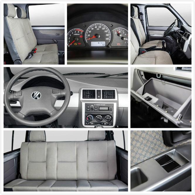 mini-bus VC4 interior