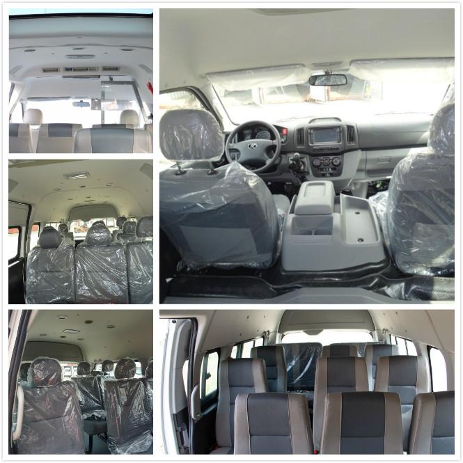 mini-bus DB6 interior