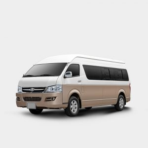 16 seater mini-bus 6 meters long-wheelbase  Gasoline/diesel engine -Kingstar Minibus J6
