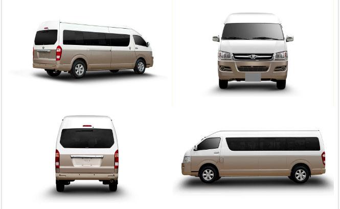 mini-bus J6 exterior