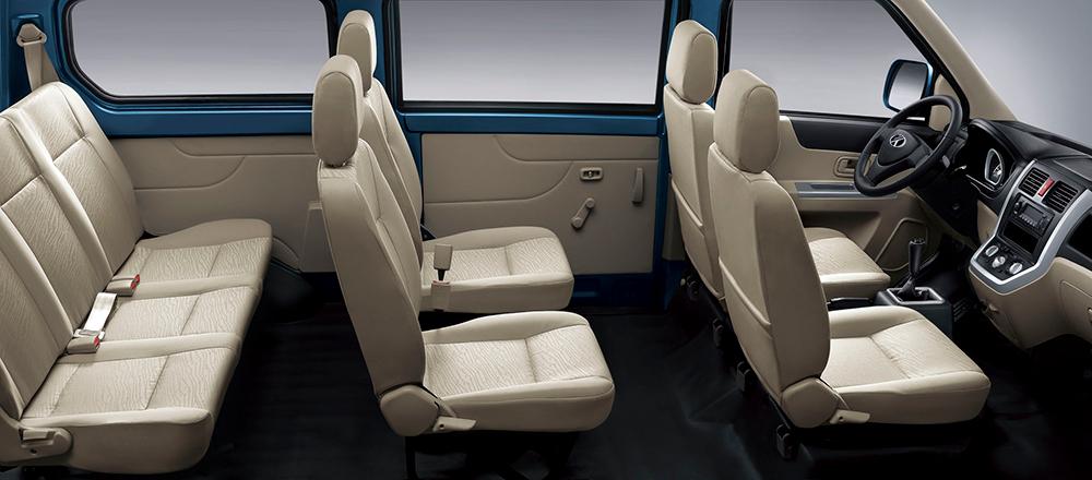 mini-bus VF5 interior