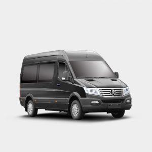 7-16 seater minibus for sale 5.9 meters long-wheelbase Gasoline EURO IV Diesel EURO V-Kingstar Y6