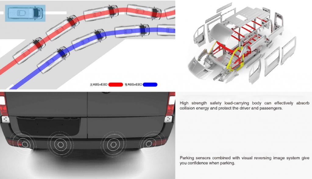 mini-bus Y6 safety