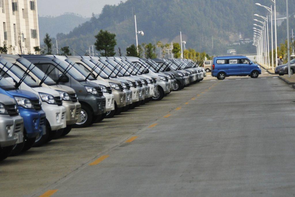 8 passenger van