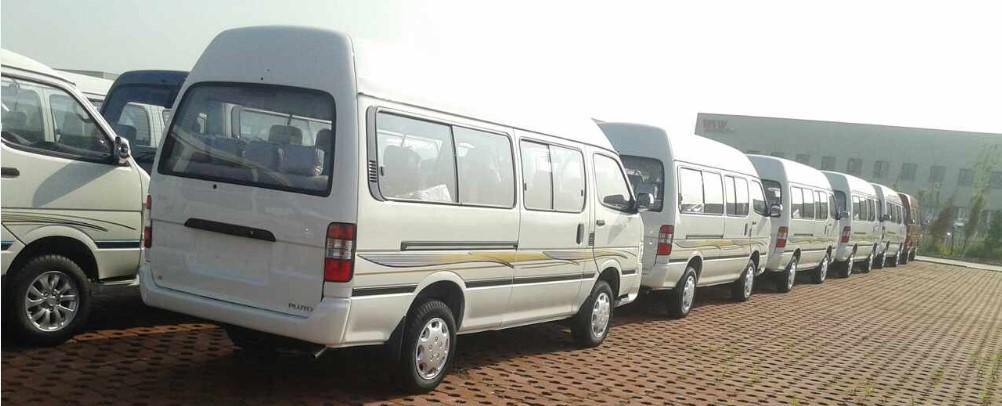 commercial minibus