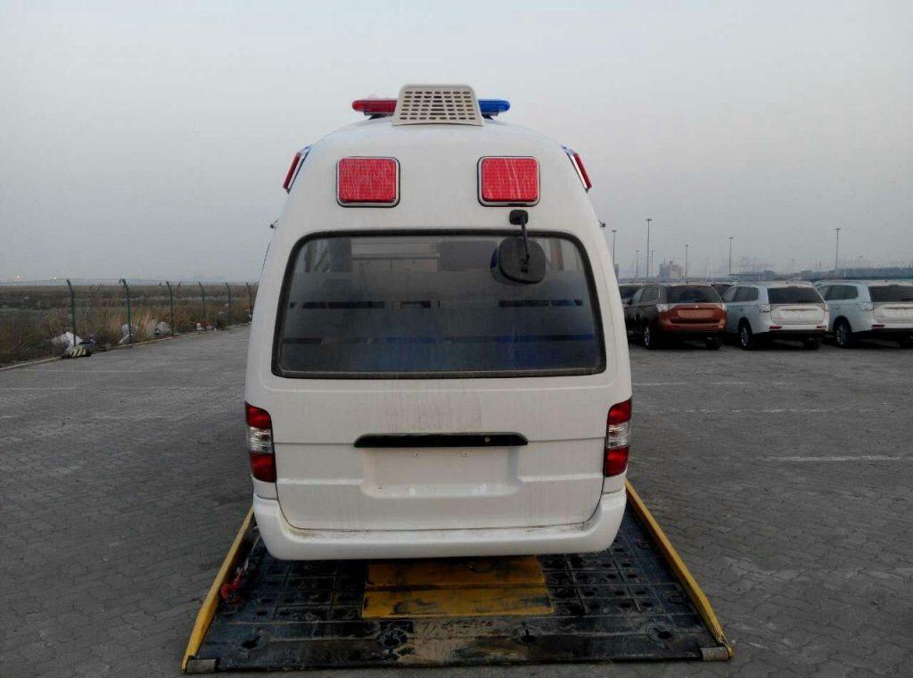 ambulance minibus