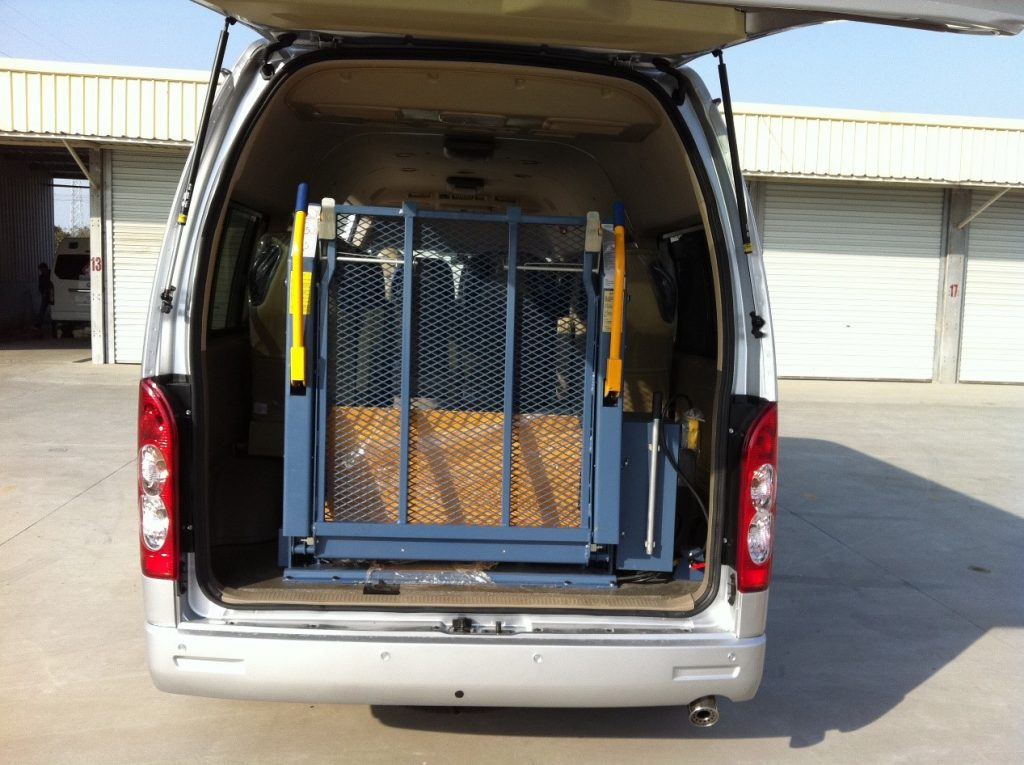accessible van for sale