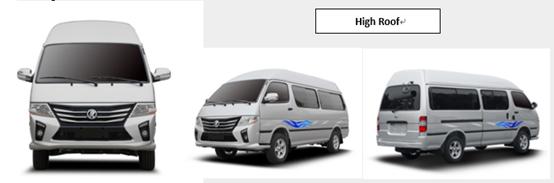 High Roof Minibus