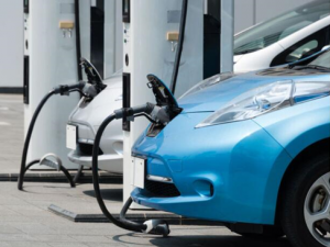 China's new energy vehicles, including electric car have a strong growth